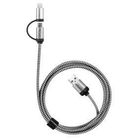 Milano 2n1 Fabric Charge & Data Cable