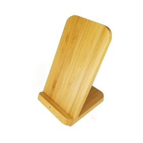 Stirling Fast Wireless Bamboo Charger