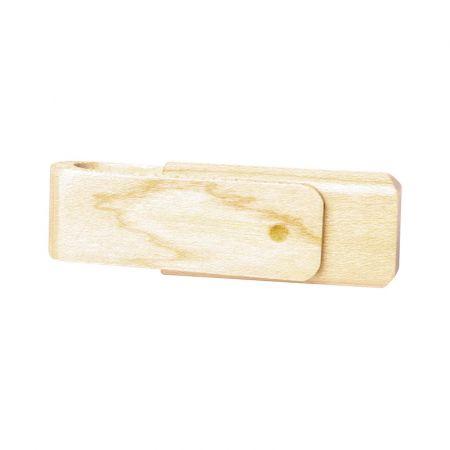 Bamboo Swivel Flash Drive