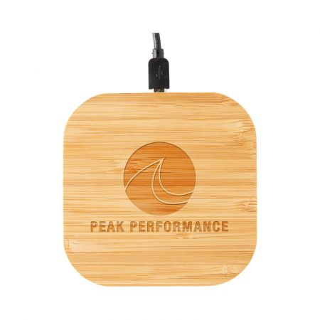 Nelson Wireless Bamboo Fast 10W Charger