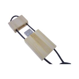 Bamboo Lanyard Flash Drive