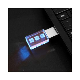 3D Crystal Flash Drive