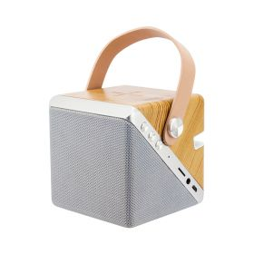 Twist Cube Wireless Charging Bluetooth Speaker