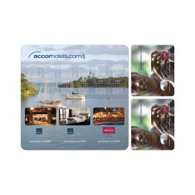 PVC Mouse Pad & Coaster Set