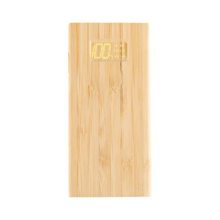 Mills Bamboo Power Bank - 10000 mAh