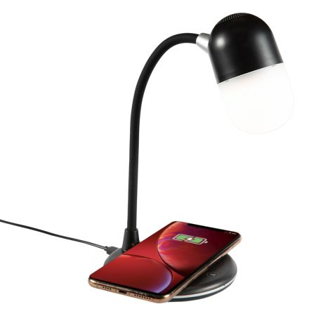 Newark Wireless Charging Sound Lamp